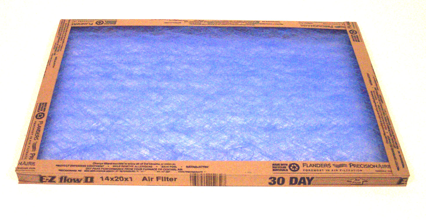 ** INVENTORY CLOSEOUT** Fiberglass Air Filter 14x20x1  (Case of 6) SHIPPING TO U.S. $1.99