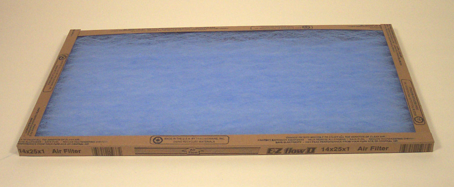 **INVENTORY CLOSEOUT** Fiberglass Air Filter 14x25x1  (Case of 6) SHIPPING TO U.S. $1.99