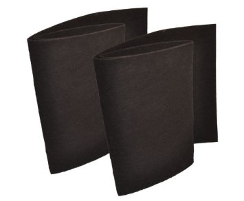 Charcoal Prefilter (Cut to Fit)  for Hunter QuietFlo 30090 (2pack)